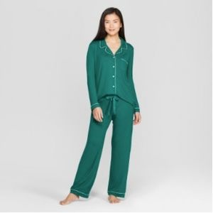 Green Gilligan & O'Malley PJ Set, size M
